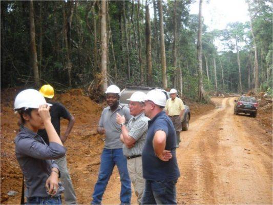 Des entrepreneurs Français sur le terrai au Cameroun