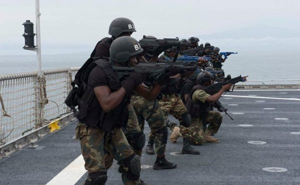 Soldats camerounais du BIR
