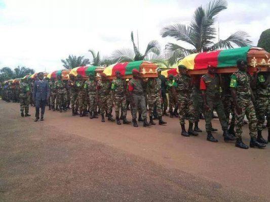Hommage aux soldats camerounais tombés au front de guerre..