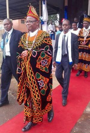 Le président du MRC un des partis d'opposition au Cameroun