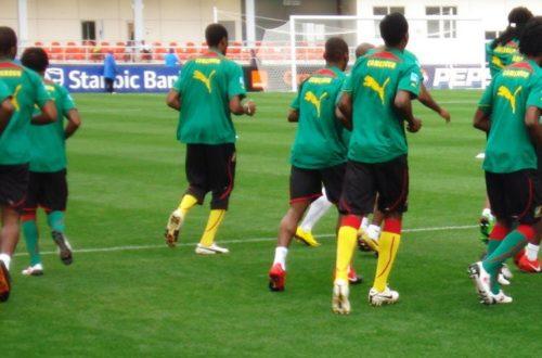 Article : À bas le foot-ball au Cameroun