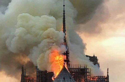 Article : Africains du monde entier, Notre Dame ne vaut pas notre âme
